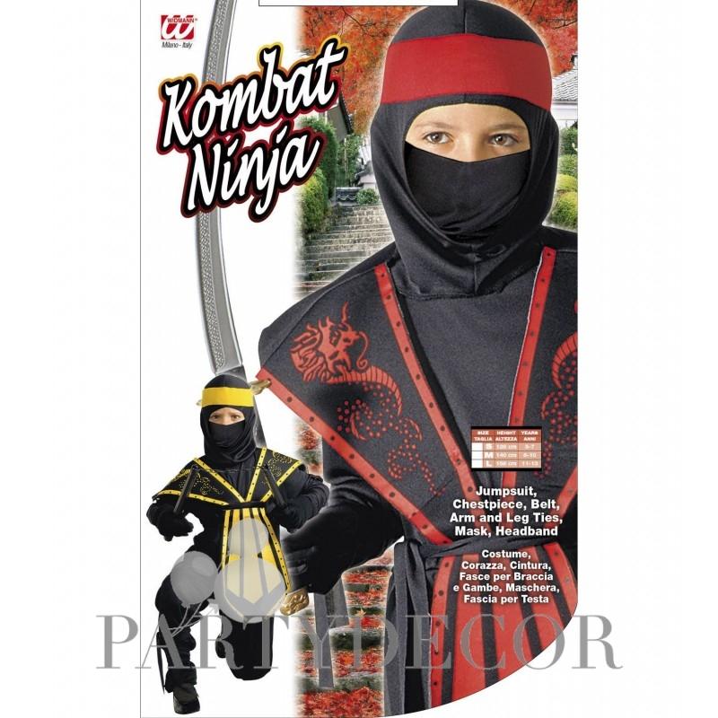 a80cc01a6f Ninja jelmez Assortment, 128-as méret 5-7 éveseknek