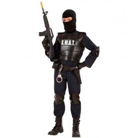 Terrorelhárító jelmez, S.W.A.T jelmez gyerekeknek