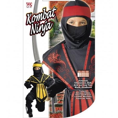 Ninja jelmez Assortment, 128-as méret 5-7 éveseknek