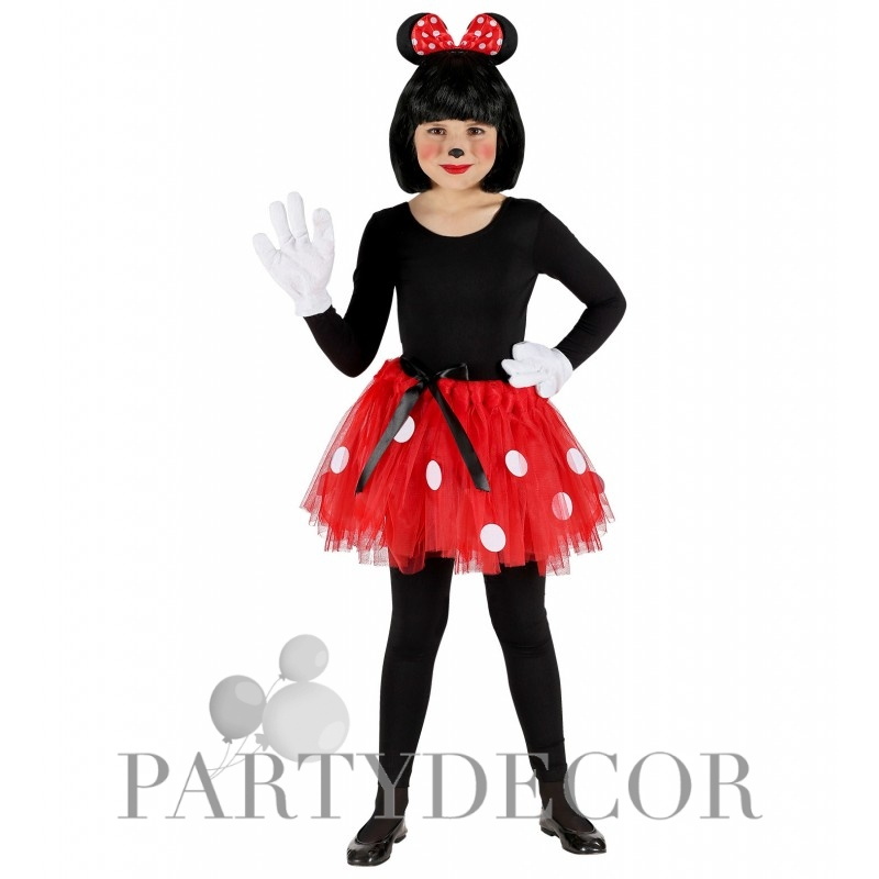 0ed830ce29 Minnie egér jelmez szett gyerekeknek, tütü és egér fülek