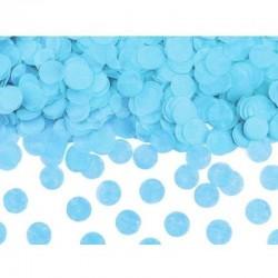 Kék Kerek Konfettiket Kilövő Konfetti Ágyú, 60 cm-es
