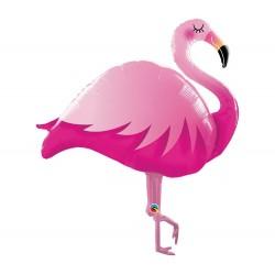 Flamingó Formájú Fólia Lufi 117 cm-es