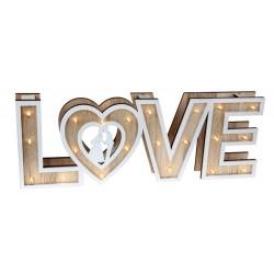LED-es világító LOVE felirat
