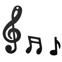 Hangjegy Formájú Parti Konfetti