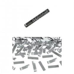Ezüst Téglalapokat Kilövő Konfetti Ágyú, 60 cm-es