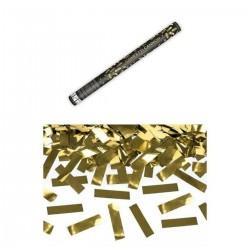 Arany Téglalapokat Kilövő Konfetti Ágyú, 60 cm-es