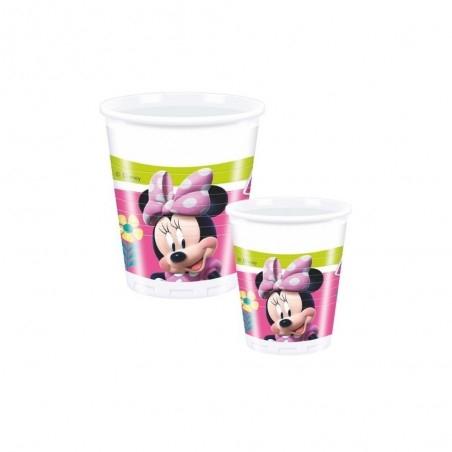 Minnie egér parti pohár  - 200 ml, 8 db-os