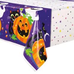 Halloweenre Tök Mintás Asztalterítő