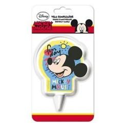 Mikiegér (Mickey Mouse) Mesefigurás Tortagyertya