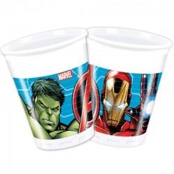 Bosszúállók - Mighty Avengers Parti Pohár - 200 ml, 8 db-os
