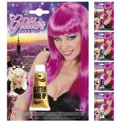 Glitteres csillámló arc és testfesték