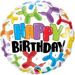Lufikutya Mintás- Birthday Balloon Dogs Születésnapi Lufi