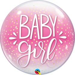 Baby Girl Feliratos Lufi Babaszületésre 56 cm