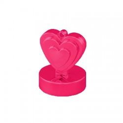 Magenta Rózsaszín Szives Léggömbsúly