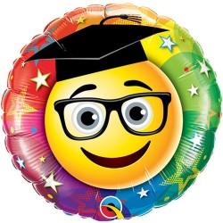 Ballagási Héliumos Lufi Smile Mintás - 46 cm