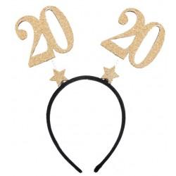 20-as Parti Fejdísz Arany Glitteres