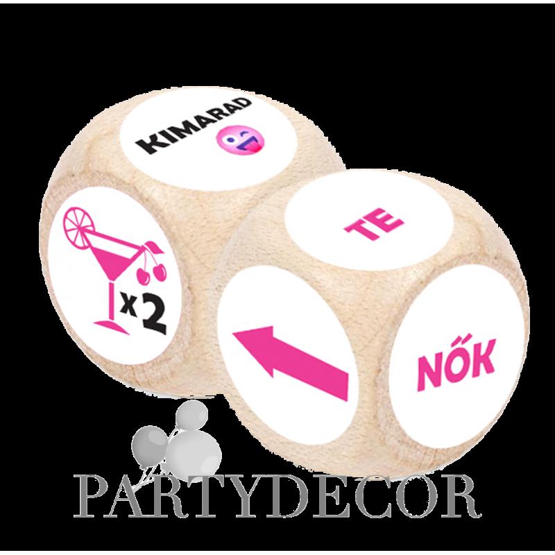 Party Dobókocka - Csajoknak 2 db-os