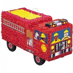 Tűzoltóautó Parti Pinata Játék