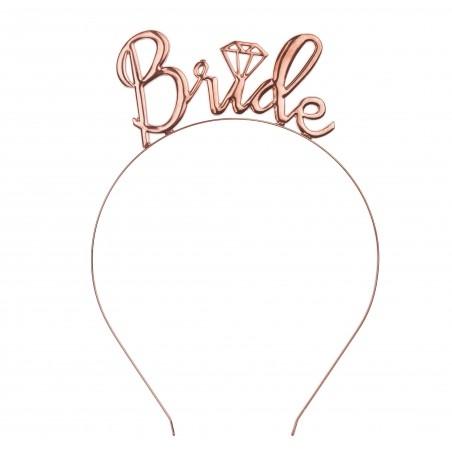 Rosegold Bride Lánybúcsús fejdísz
