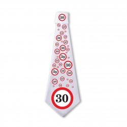 30. Sebességkorlátozós Születésnapi Nyakkendő