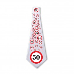 50. Sebességkorlátozós Születésnapi Nyakkendő