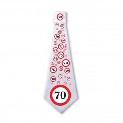 70. Sebességkorlátozós Születésnapi Nyakkendő