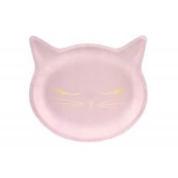 Pink Cicás Születésnapi parti tányér