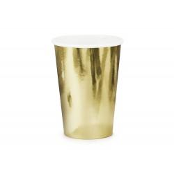 Arany papír parti pohár
