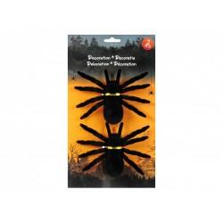 Fekete szőrös hatású pók