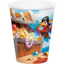 Kalózos party pohár