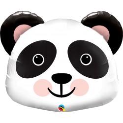 Óriás Mosolygó Panda Fej Fólia Lufi