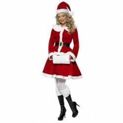 Miss Santa Plüss Mikulás Jelmez Hölgyeknek