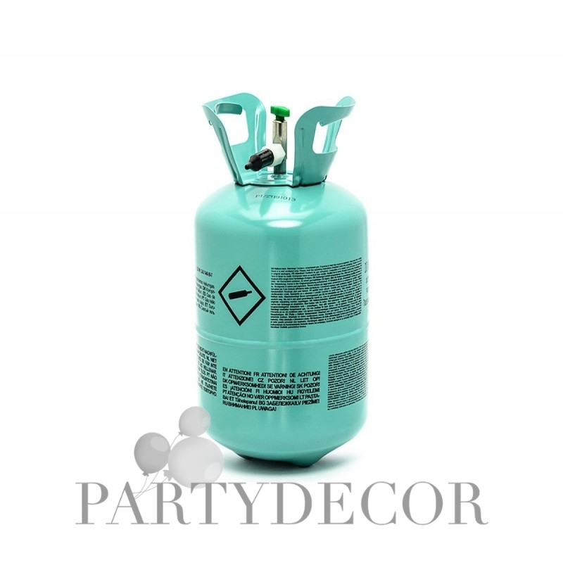 Eldobható héliumpalack 30 db latex lufihoz