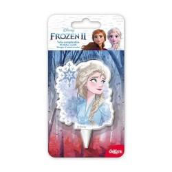 Jégvarázs Frozen Elsa mesefigurás tortagyertya