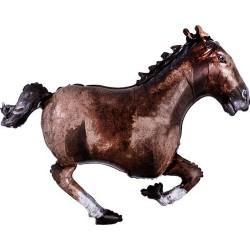 Vágtató ló formájú héliumos fólia lufi