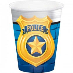 Rendőr Police Parti Pohár