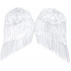 Fehér toll angyalszárny 55 cm x 45 cm