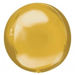 Arany Gold Orbz Fólia Lufi