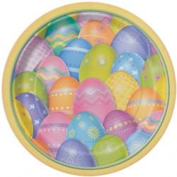 Tojásos - Dazzle Eggs Húsvéti Parti Tányér