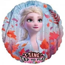 Jégvarázs Frozen 2 Éneklő Fólia Lufi
