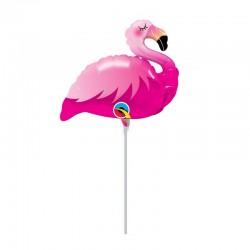 Pink Flamingó Pálcás Fólia Lufi
