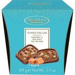 Különleges csokoládé sós-karamella darabokkal