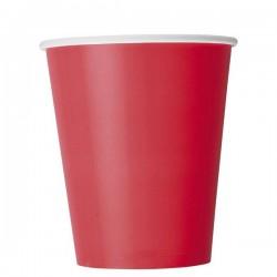 Piros papír pohár
