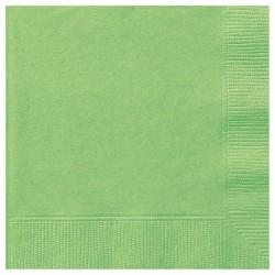 Lime zöld papír szalvéta