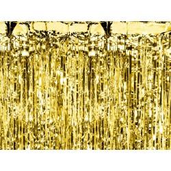 Arany dekoráció - rojtos party függöny