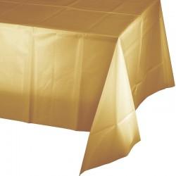 Arany műanyag asztalterítő