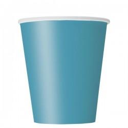 Türkizkék papír pohár