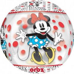 Minnie egeres gömb héliumos fólia lufi