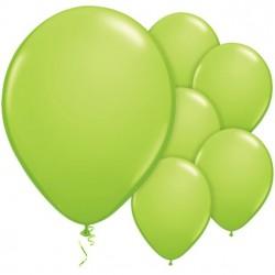 Lime Zöld Kerek Gumi Lufi 28 cm-es