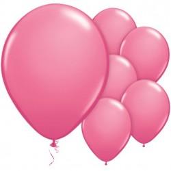 Rózsaszín Kerek Gumi Lufi 28 cm-es